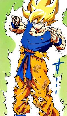 Time for a Kamehameha!   #SonGokuKakarot Dragon Ball Z, Dbz Manga, Goku Pics, Z Warriors, Manga Artist, Son Goku, Akira, Asura's Wrath, Poses
