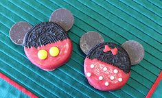Minnie Mickey oreos