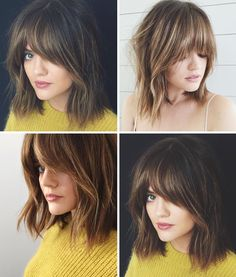 Lucy hale bangs More