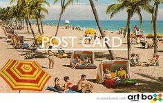 Secret Art Box postcard sale at FOLD