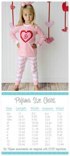 Personalized Appliqued Valentine Pajamas Pink by EmbellishedBayou