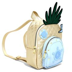 Visit 124 Conch Street and you'll see a house that looks just like this SpongeBob SquarePants Pineapple Mini Backpack. That's because it is the home address of Spongebob Im Ready, Spongebob House, Messenger Backpack, Mini Backpack, Spongebob Squarepants Toys, Star Hammer, Star Labs, Funny Spongebob Memes, Novelty Bags