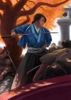 Mirumoto Ryoji, officially per Dave (Doji Makoto)