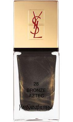 Yves Saint Laurent La Laque Couture -- Bronze Aztec