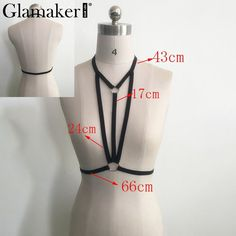 Material: Polyester Bra Style: Unlined Cup Shape: Full Cup Strap Type: Non-adjusted Straps Closure Type: None Support Type: Wire Free Pattern Type: Solid Item T Diy Clothes Design, Black Bralette, Diy Bralette, Bralette Pattern, Fashion Designer Quotes, Sewing Lingerie, Wedding Dress, Bra Styles, Cool Outfits