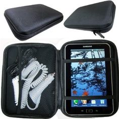 """Charger-City Exclusive 7"""" Tablet / GPS Hard Case with Multi-Compartment for Google Nexus 7 Amazon KINDLE Fire Blackberry PlayBook Samsung Galaxy Tab I II Magellan Roadmate 1700 9020 9055 T LM T-LM MU Cobra 7750 SatNav GPS Receiver (ChargerCity Direct Product Replacement Warranty) by ChargerCity. $16.25. Protect your valuable device with the ChargerCity 7"""" Hard Carrying Case. The rugged exterior protects your device from bumps & scratches, helping you to get a prolong the life ..."""