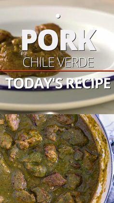 Mexican Pork Stew, Pork Stew Meat, Stew Meat Recipes, Easy Meat Recipes, Pork Recipes, Dinner Recipes, Cooking Recipes, Dinner Ideas, Recipies