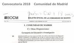Pruebas Libres de ESO 2018 #madrid #ESO #pruebaslibres Math Equations, Summoning, Baccalaureate