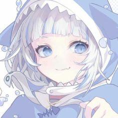 Blue Anime, Anime Oc, Chica Anime Manga, Anime Chibi, Anime Couples Drawings, Anime Girl Drawings, Cute Drawings, Kawaii Anime Girl, Anime Art Girl