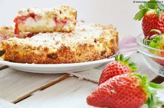 Crumbled pastry with ricotta and strawberries | Sins of Sweetness