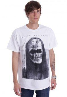 Asking Alexandria - Blurred Album Art White - T-Shirt - Offizieller Metalcore Merchandise Online Shop - Impericon CH