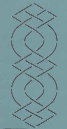 """Zion 105 2.5"""" - The Stencil Company"""