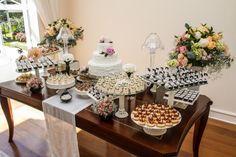 Mesa de doces casamento chanel 3