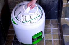 Before we harnessed electricity, we used to wash clothes with a little elbow grease. Read moreFoot Powered Washing Machine Works Off The Grid Mini Washing Machine, Portable Washing Machine, Washing Machines, Manual Washing Machine, Hand Washing, Off The Grid, Power Wash Machine, Camper Hacks, Travel Trailers
