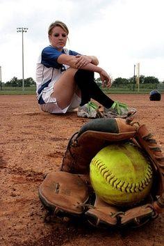 Softball senior pictures
