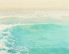 "ocean wave photograph ""surge"". surfer swimmer Hermosa Beach California aqua blue summer refreshing water motion unisex 16x20. $90"