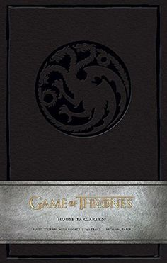 Game of Thrones: House Targaryen Hardcover Ruled Journal (Insights Journals) by HBO (2014-04-22)