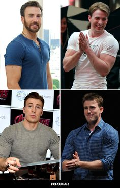 12 Times Chris Evans Simply Could Not Contain His Muscles // captain america? more like captain adorable. Capitan America Chris Evans, Chris Evans Captain America, Capt America, Thanos Avengers, Robert Evans, Hommes Sexy, Raining Men, Steve Rogers, Attractive Men