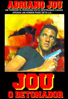 FILME JOU O DETONADOR Com Adriano Santos Caldeira como Jou e o Terrorista Ano (1998) Filme escrito, produzido e dirigido por Adriano Jou