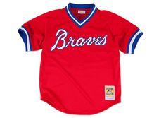858085b97 Dale Murphy 1980 Authentic Mesh BP Jersey Atlanta Braves - Shop Mitchell   amp  Ness MLB