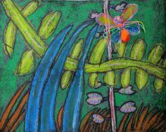 North Art Alert: Second Grade Nature Up-Close