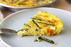 Tasty Kitchen Blog: Asparagus Quiche with a Spaghetti Squash Crust ...