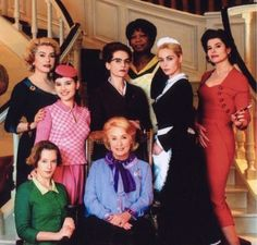 8 women. My favorite movie of all time, with the amazing Catherine Deneuve and Fanny Ardant.