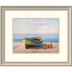 """Global Gallery 'Al Mattino' by Adriano Galasso Framed Painting Print Size: 20"""" H x 24"""" W x 1.5"""" D"""