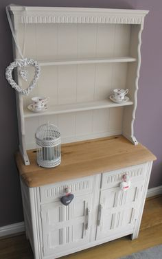 Cute Oak Dresser In Our Signature Autentico Chalk Paint Colour Cocos #ChalkPaint