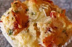 Herzhafte Speck und Käse Muffins