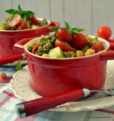 Σαλάτα με σπανάκι κ φουρνιστά λεμονάτα μανιτάρια με μουστάρδα - Lemony mustard mushroom spinach salad - The Veggie Sisters