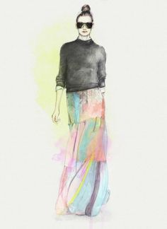 Fashion Illustration by Anca G. Lungu