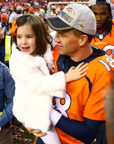 Peyton Manning and Mosley Manning