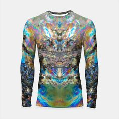'Futuretech' <> Long sleeve rash guard printed with my abstract photography are available from Live Heroes! Order one now for yourself or as a gift!