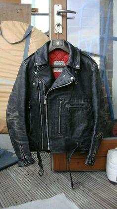 Monza Black Biker Kiwi Sheep Leather Jacket