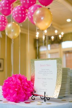 Kate spade birthday party  Pretty Party Details--Pinspiration from Frosted Events Blog @frostedevents #party  #katespade #style
