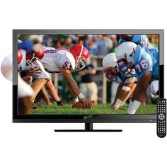 """Supersonic 18.5"""""""" Led Tv And Dvd Combination"""