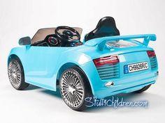 stuff4childrencom audi r8 electric cars for kids to ride 12v parental remote control