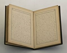 1842 phonographic journal in Pitman shorthand, a phonetic, stenographic method developed by Sir Issac Pitman in the early Pitman Shorthand, Lost Art, Potpourri, Typography, Journal, Letterpress, Letterpress Printing, Bowl Fillers, Fonts