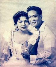 Ferdinand Marcos ♥ Imelda Romualdez | 01 May 1954