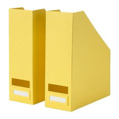 Ikea Tjena Magazine File, Yellow Color Set of 2 Free Shipping Ikea http://www.amazon.co.uk/dp/B00O0ZM6K8/ref=cm_sw_r_pi_dp_V0.bvb0RVFT75