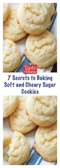 7 Secrets to Baking Soft and Chewy Sugar Cookies Amish Sugar Cookies, Sugar Cookies Recipe, No Bake Cookies, Cupcake Cookies, Chip Cookies, Cupcakes, Muffin Cupcake, Spritz Cookies, Brownie Cookies