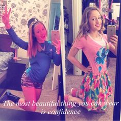 """~""""The most beautiful thing you can wear is confidence.""""~"""