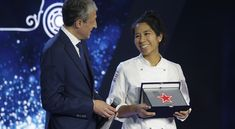 Elizabeth Puquio Landeo is the winner of the Fine Dining Lovers People's Choice Award.