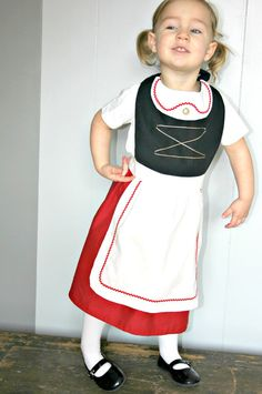 Items similar to SWISS maiden Juliet (Gnomeo) inspired CHILD kid Apron Costume. on Etsy Gnome Costume, Costume Dress, Second Birthday Ideas, 10 Birthday, Disney Costumes For Kids, Dress Up Aprons, Aprons For Sale, Snow White Disney, Kids Apron