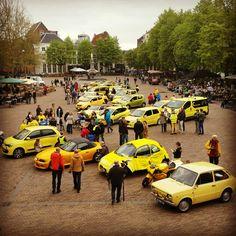 Deventer Brink 26 April 2015 - geel en snel tourtocht - Fotograaf Moric van der Meer