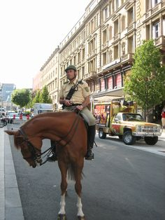 Mounted Police . Germany