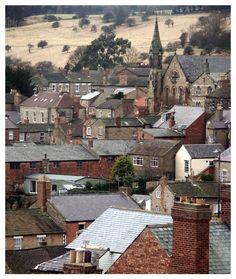 U.K. Roofs of Richmond - Richmond, North Yorkshire, England.
