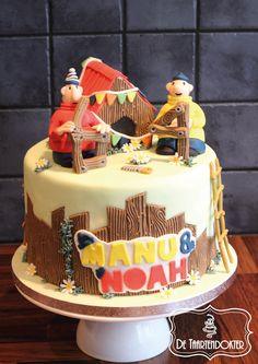 A Pat and Mat cake  Buurman en buurman taart