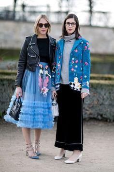 Street Style at Paris Fashion Week, March 2016